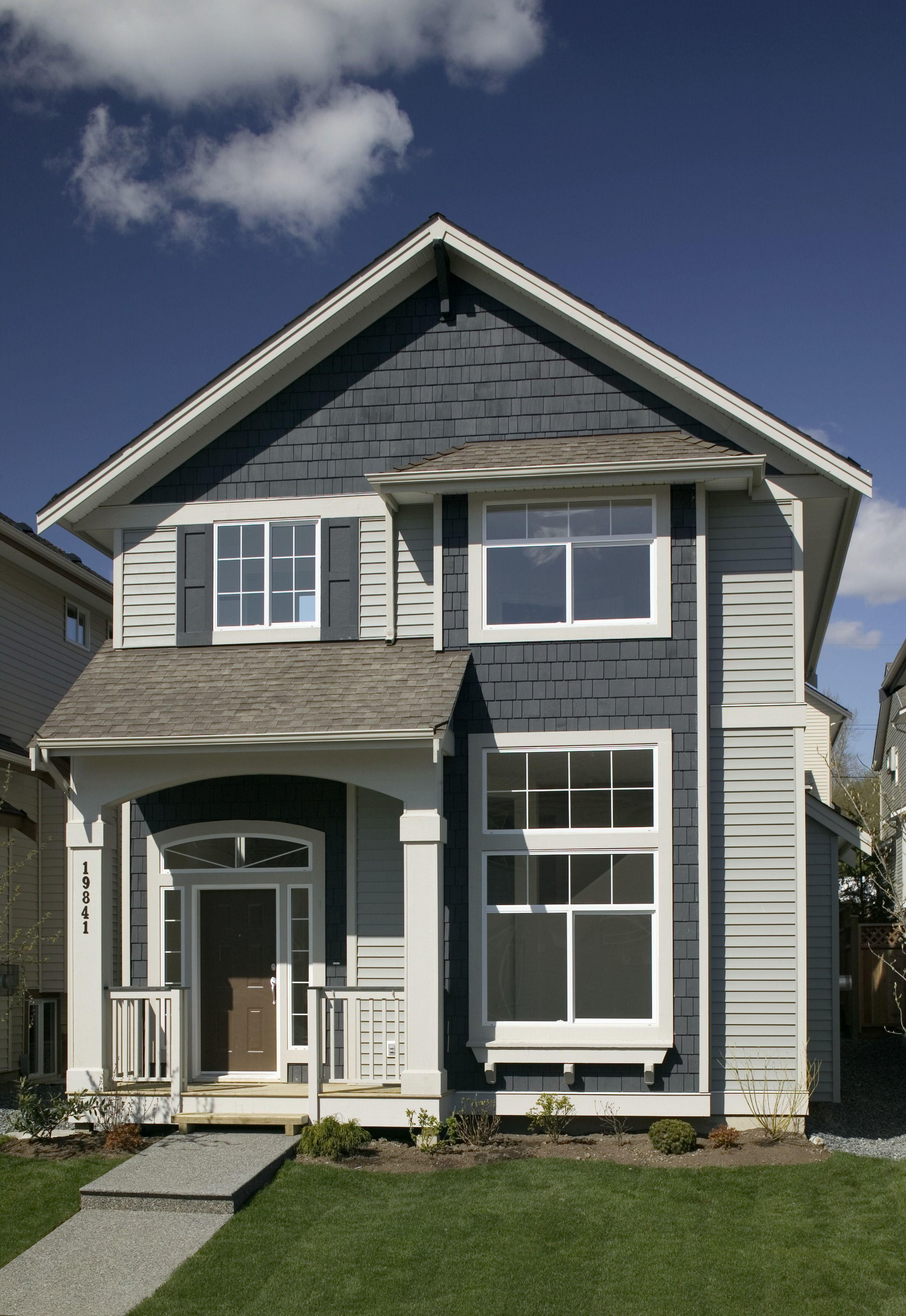 Custom Home Design Exterior Finishing And Design Ideas House Designs Exterior House Siding Options House Exterior