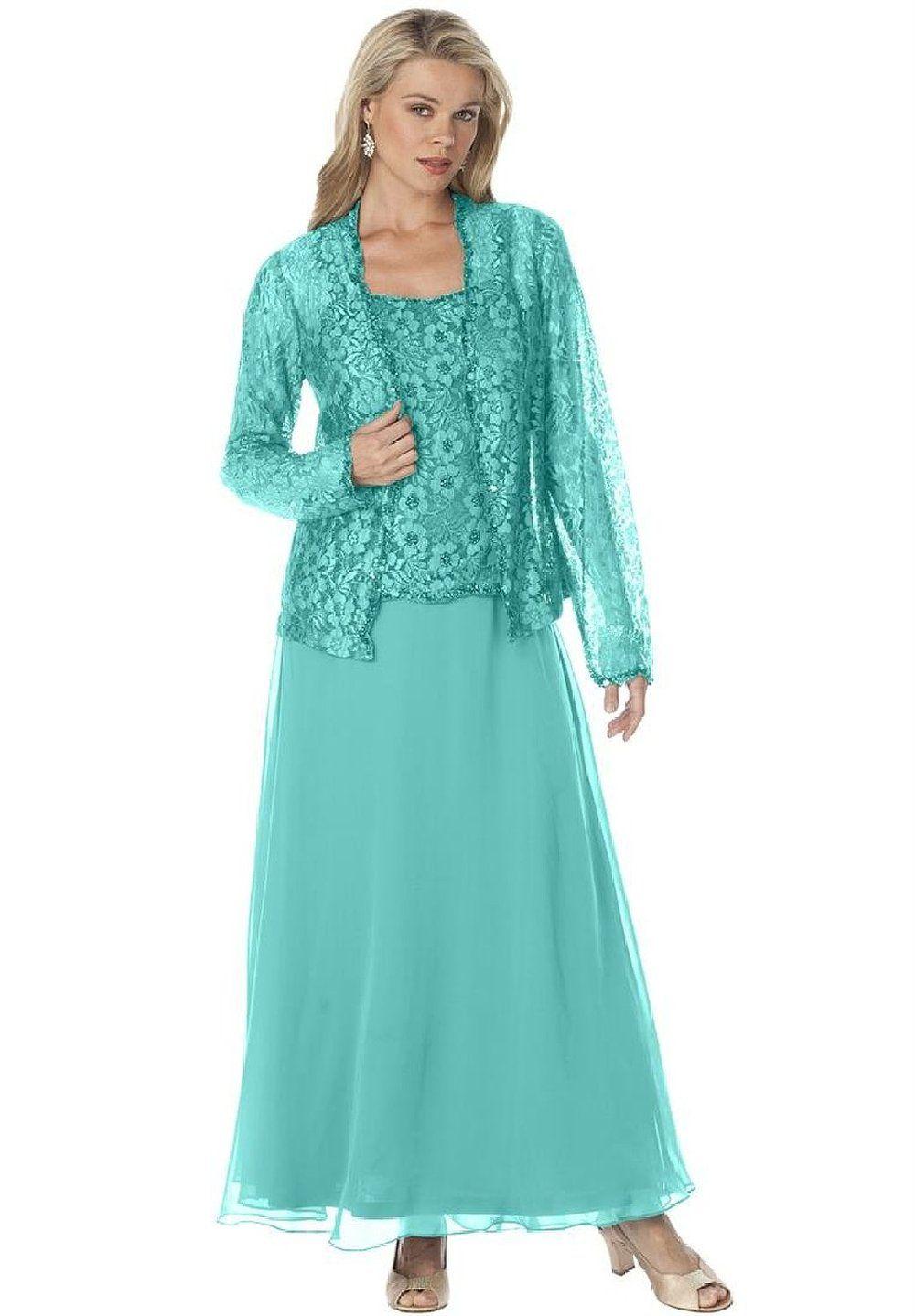 Resultado de imagen para vestidos para señoras de 50 años con manga ...