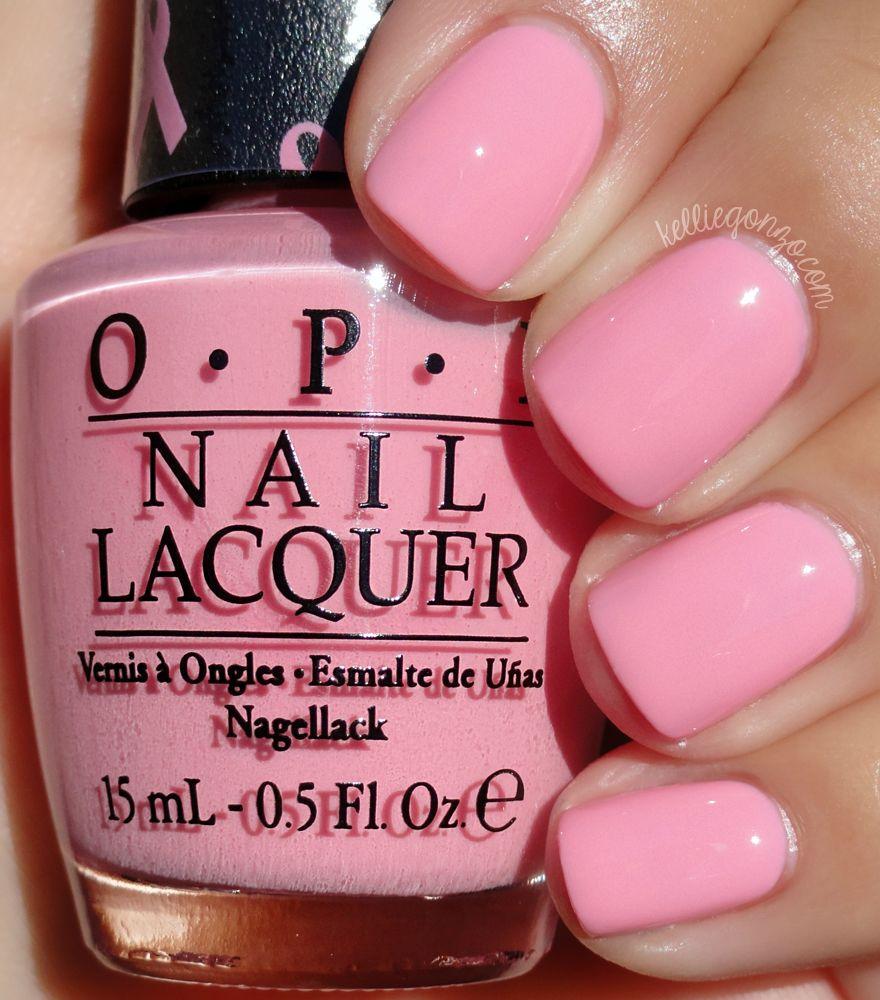 Pink Nail Polish Mini: OPI - Pink-ing Of You