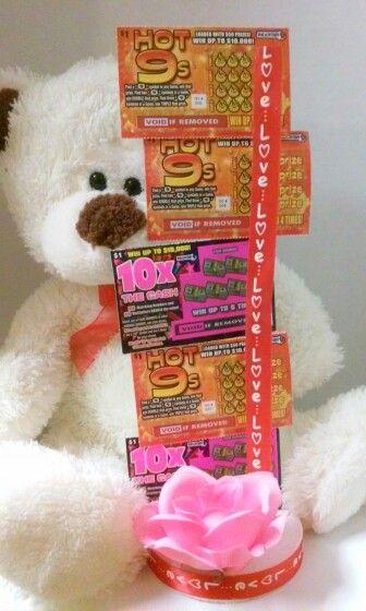 valentines day lottery basket | meka's creative ideas. boston, ma, Ideas