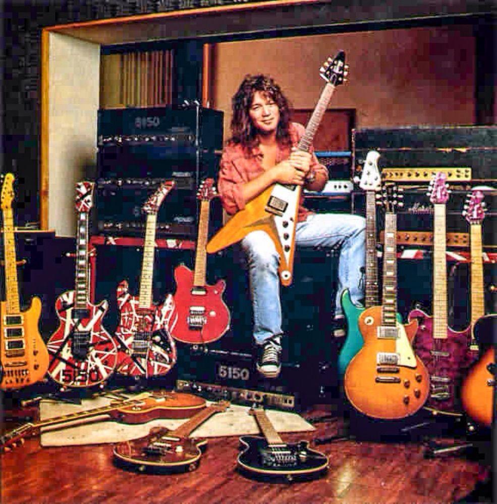 Eddie Inside 5150 Studio Eddie Van Halen Van Halen Halen