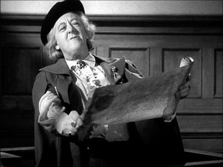 1949) Margaret Rutherford as Professor Hatton-Jones in 'Passport ...