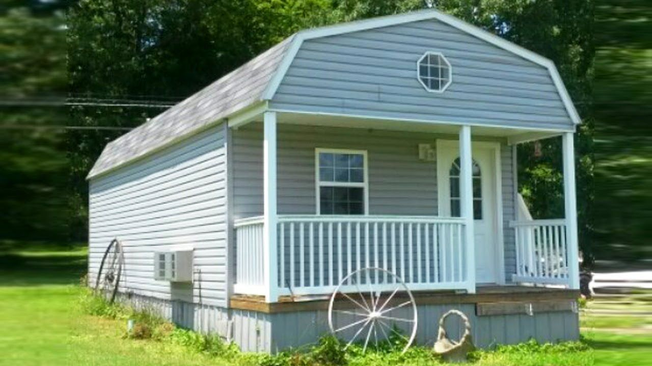 Beautiful Tiny Shed Great For Mother In Law Tiny Houses For Sale Tiny House Big Living Tiny House