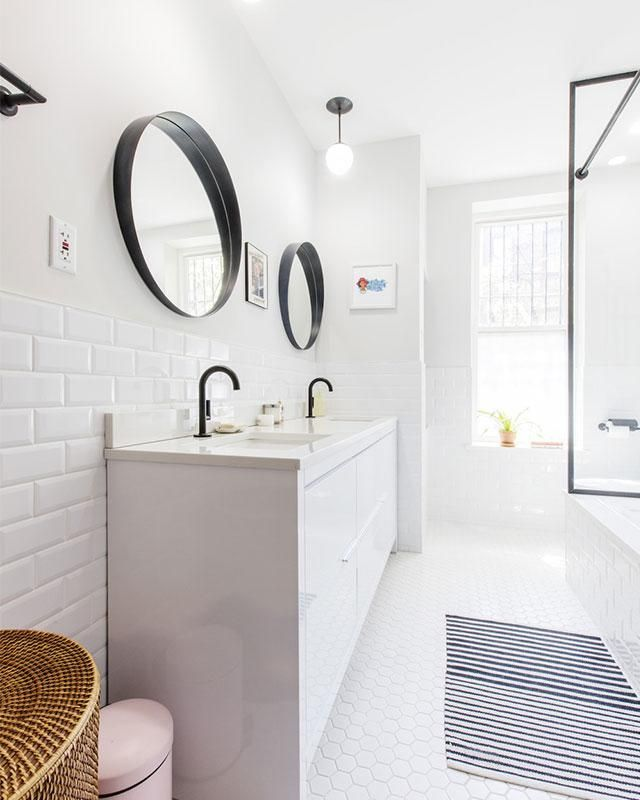 A Sleek And Chic Bathroom Makeover
