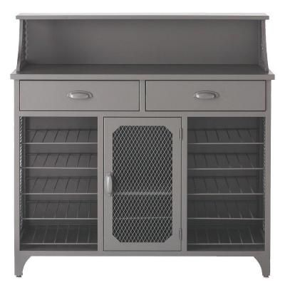 Add Wine Bar To Your Dining Room Kitchen Or Family With This Home Decorators Collection Quinn Large Metal