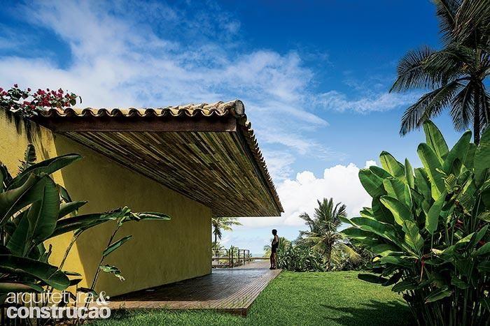 Kiến trúc và Xây dựng tạp chí - nhà bãi biển ở Bahia có phong cảnh ngoạn mục