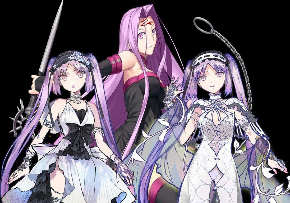 Medusa ridermid is younger stheno asassinright euryale