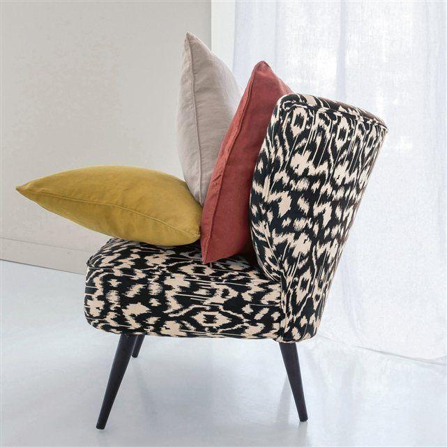 Margherita Missoni Anywhere Chair: Image Fauteuil Franck, Coton Imprimé Ikat AM.PM
