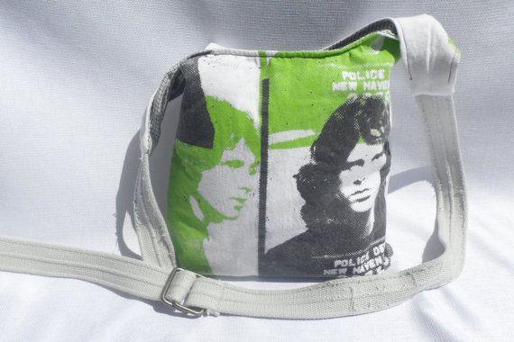 The Doors Band Jim Morrison Mug Shot Hobo Bag made by laurimurphy $28.00 & The Doors Band Jim Morrison Mug Shot Hobo Bag made by laurimurphy ...