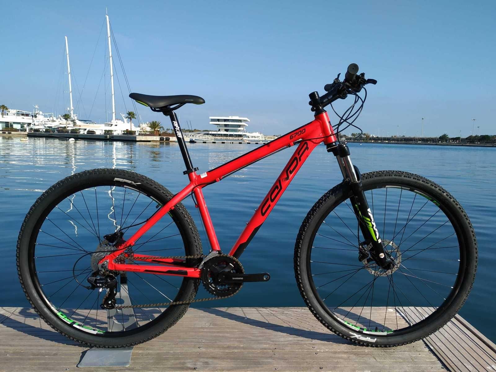 Bicicleta De Montaña Conor 6700 Ref 42271 Talla M Año 2018 Cambio Shimano Altus Cuadro De Alumi Bicicletas Mountain Bike Bicicletas Bicicletas De Montaña