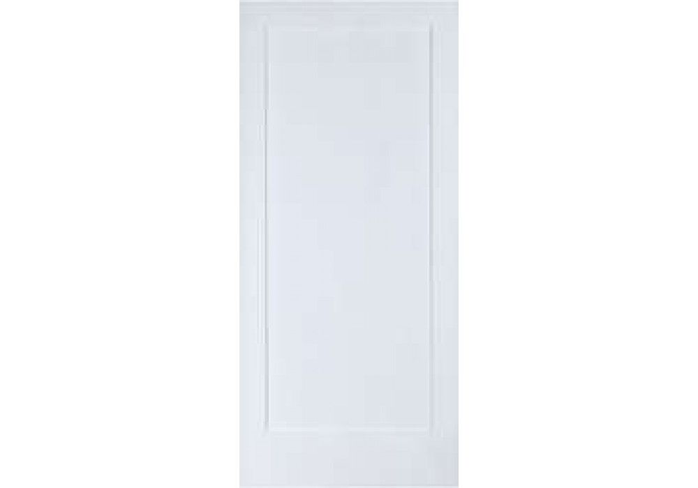 Elsh720 1 Panel Shaker Square Top Primed Door 1 3 8 Interior Doors Solid Core Interior Doors Doors Interior Primed Doors