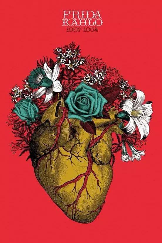 """puckerel: """"El corazón florido. """""""