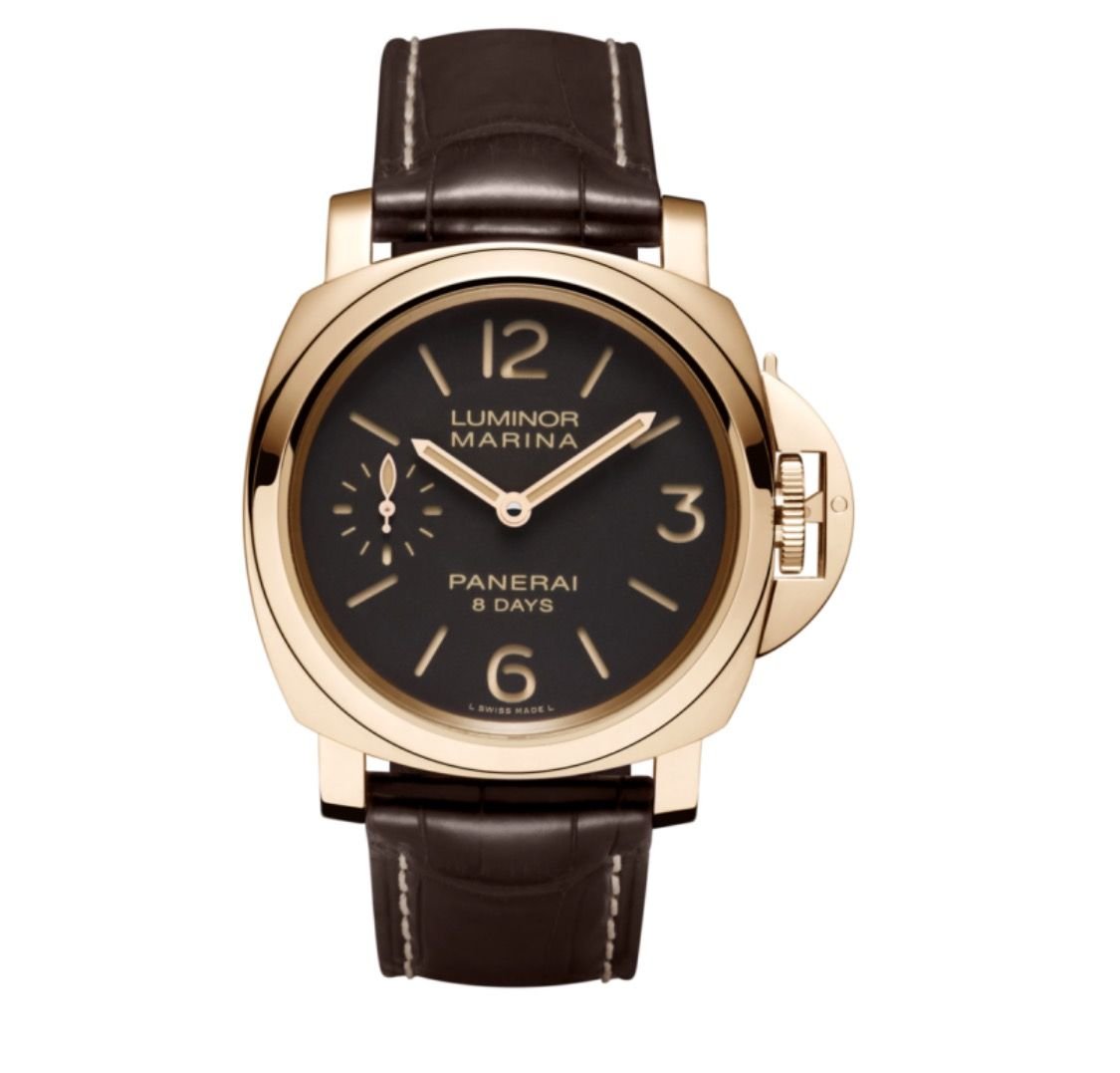 3d84a26dd26 PANERAI Luminor Marina 8 Days Oro Rosso PAM00511 Rose Gold Watch PAM 511   watch