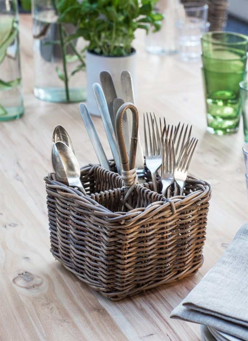 The Bembridge Cutlery Holder Is A Smart Way To Carry Your Knives Forks And Spoons About Cestas De Almacenamiento Utensilios De Cocina Decoracion De La Cocina