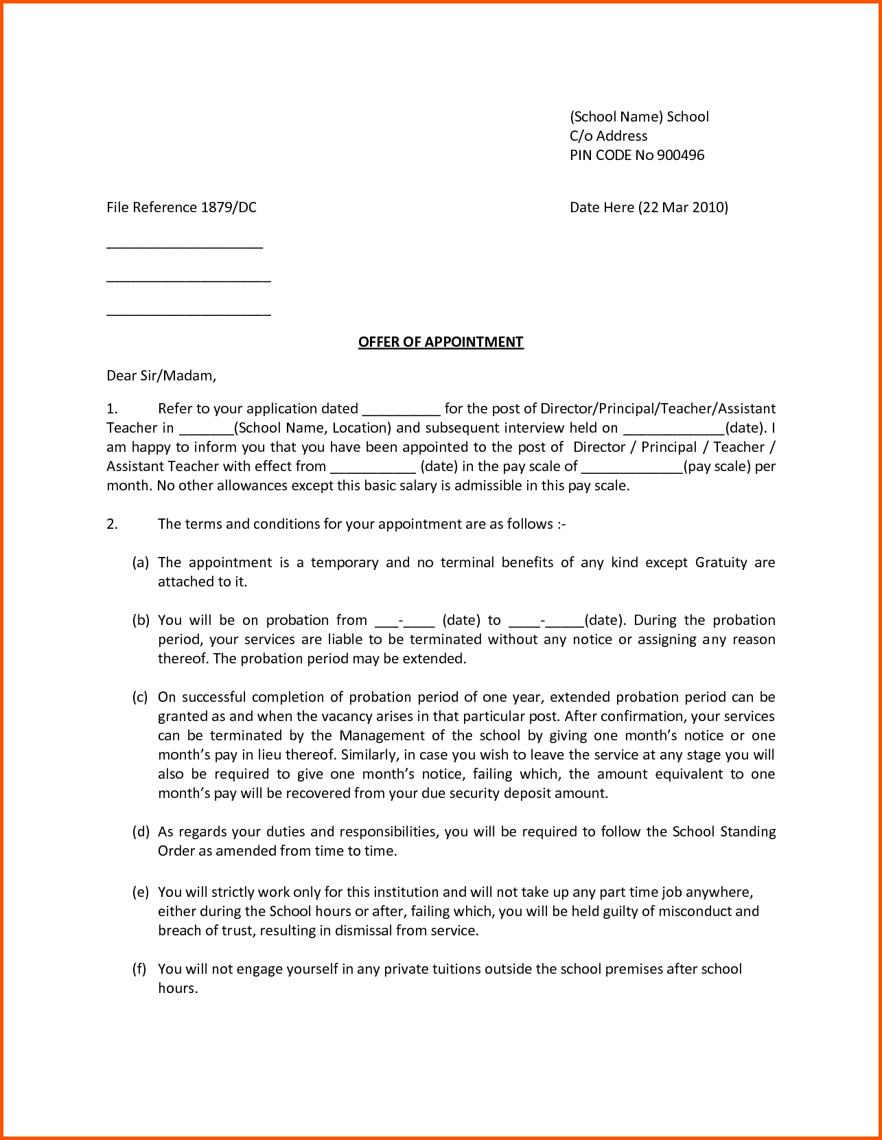 invitation letter template checklist sample teacher and principal