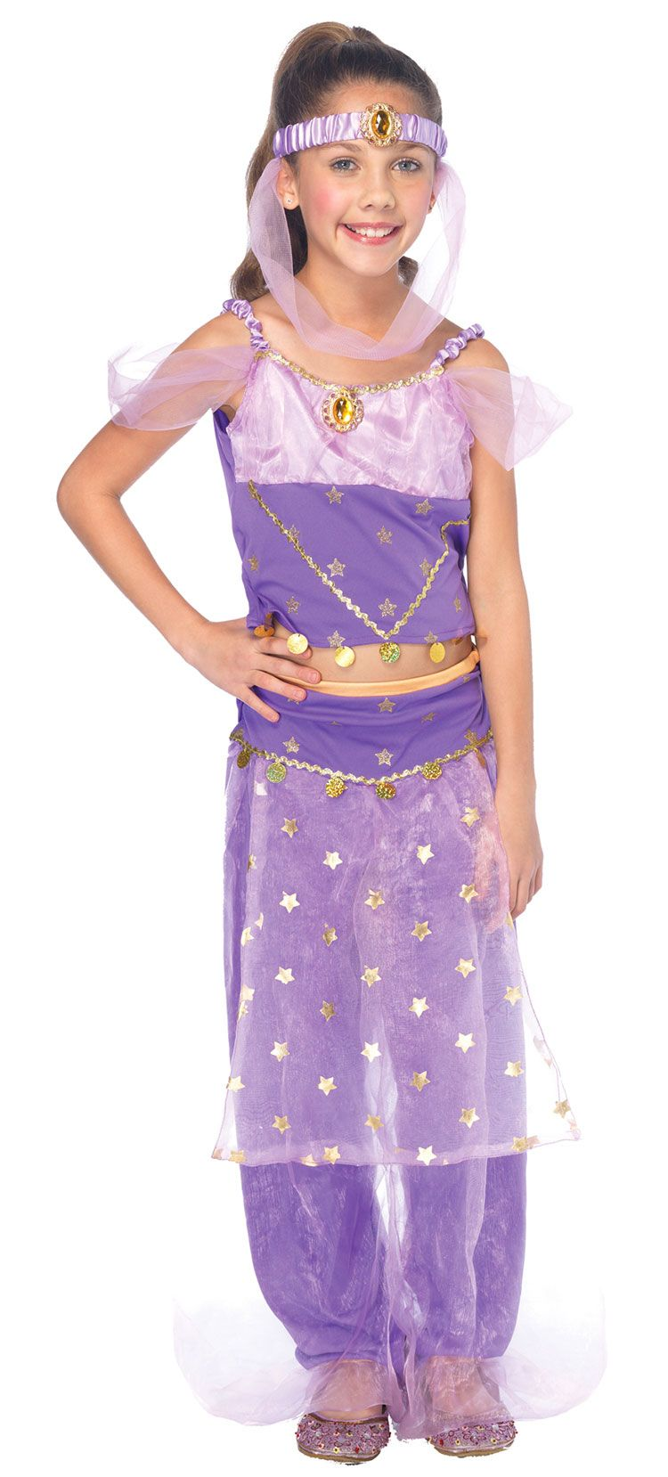 Genie halloween costumes for girls-5165