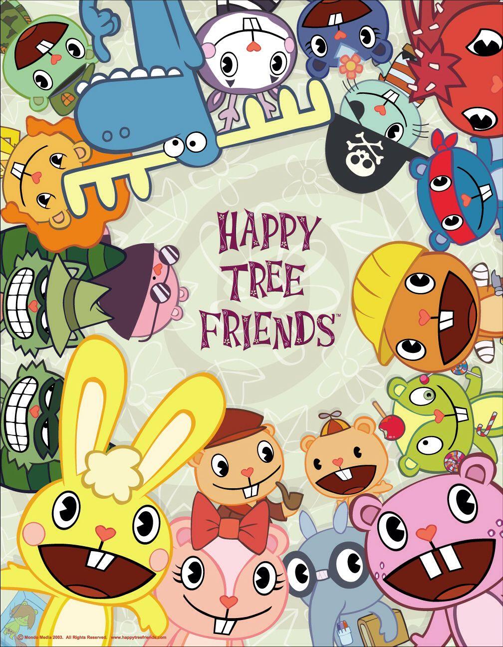 Happy Tree Friend Cartoon Pinterest Happy Tree Friends Friend