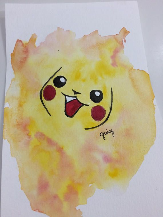 23+ Pokemon Watercolor Original