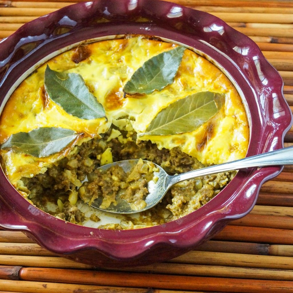 Animal Kingdom And Bobotie South African Spiced Meat Casserole