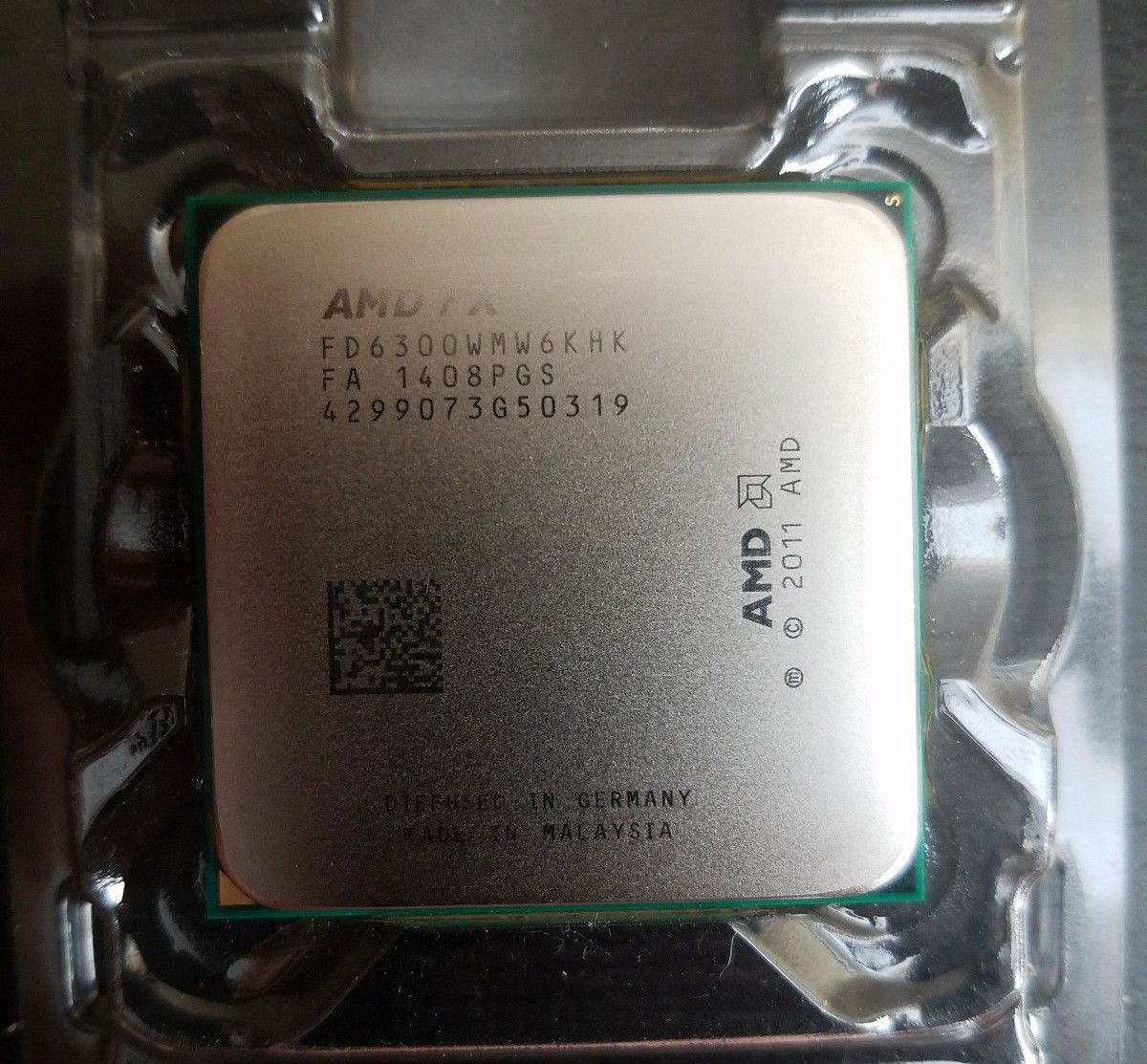 Amd Fx 6300 Black Edition 6 Core 3 5 Ghz Socket Am3 Desktop Cpu