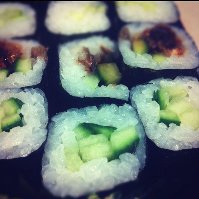 Sushi from Atari-ya, London