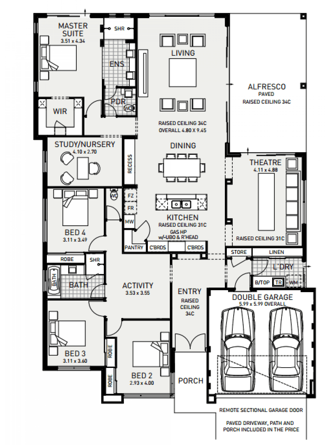 best house plan website the catherine bay display home by plunkett homes newhousing com au house floor plans floor 9281