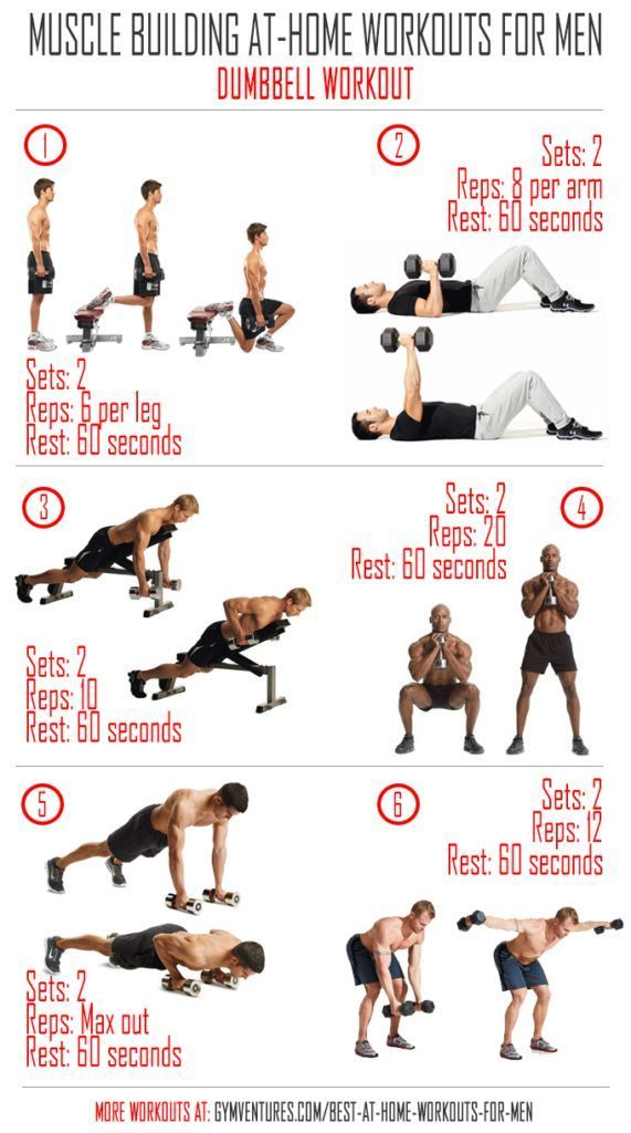At-Home-Workouts-for-Men---Dumbbell-Workout | Dumbbell