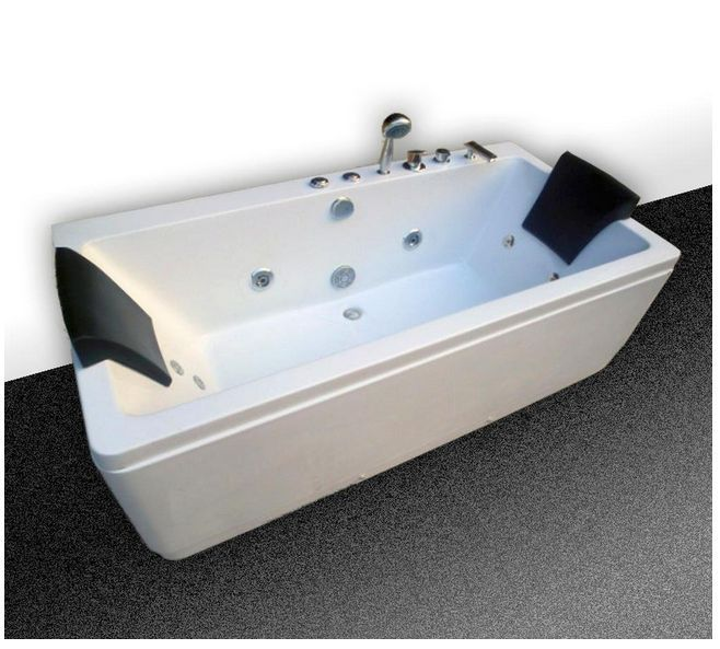 Whirlpool Badewanne Jacuzzi Pool Spa Massage Jets | Ideen Rund Ums ... Whirlpool Badewanne Hydromassage Therapie