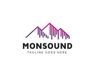 Sound Wave Logo Waves Logo Logos Sound Waves