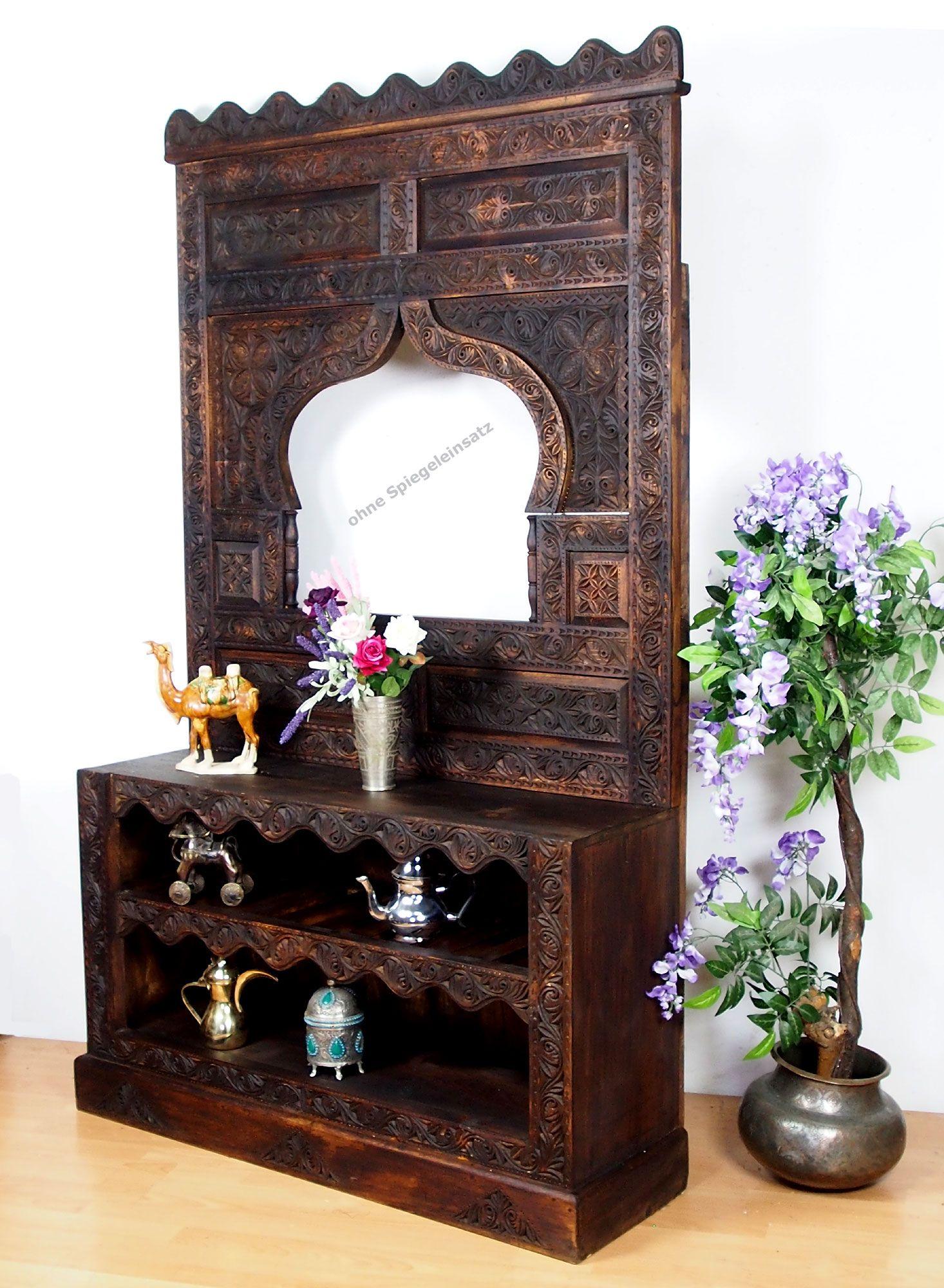 Flurgarderobe Wandgarderobe Shuhschrank Spiegel Massivholz Nuristan Wandgarderobe Innenarchitekt Und Orientalisch