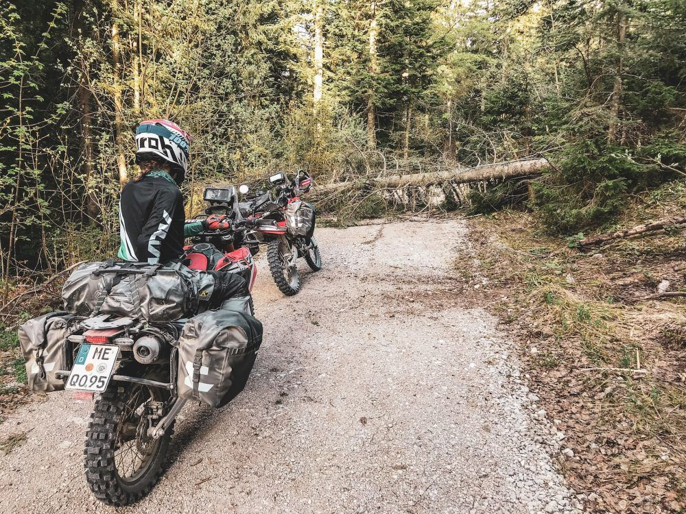 Pin By Lobagola Mototours On Trans Euro Trail Tet Croatia Expedition Green Cards