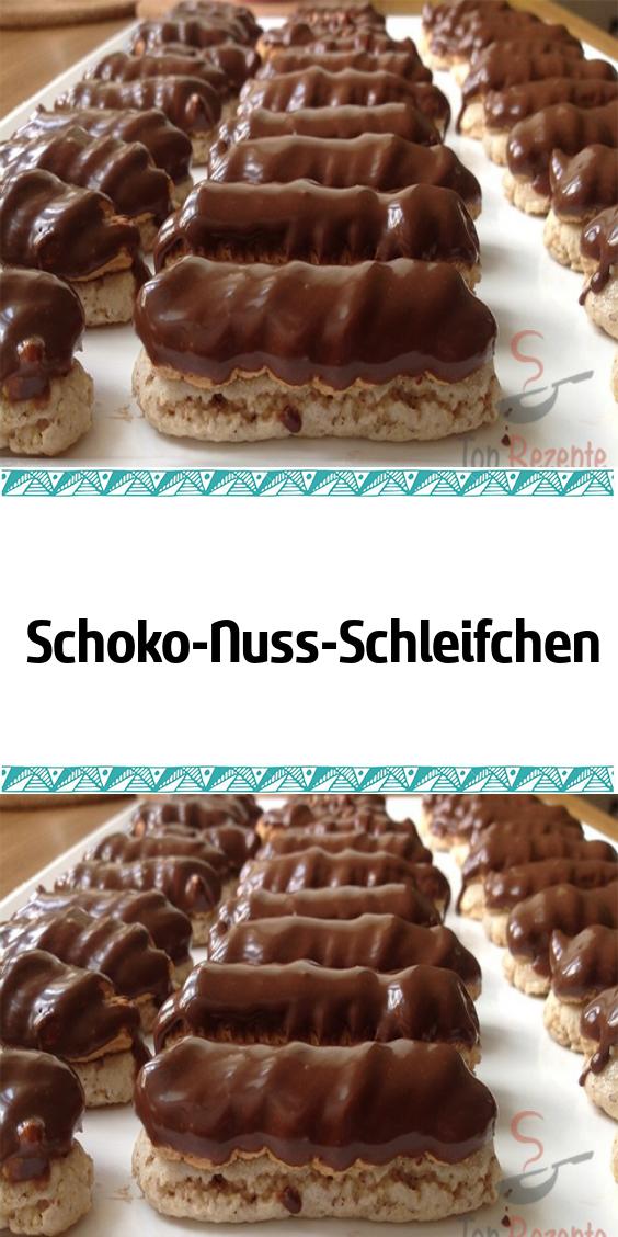 Schoko-Nuss-Schleifchen #donutcake