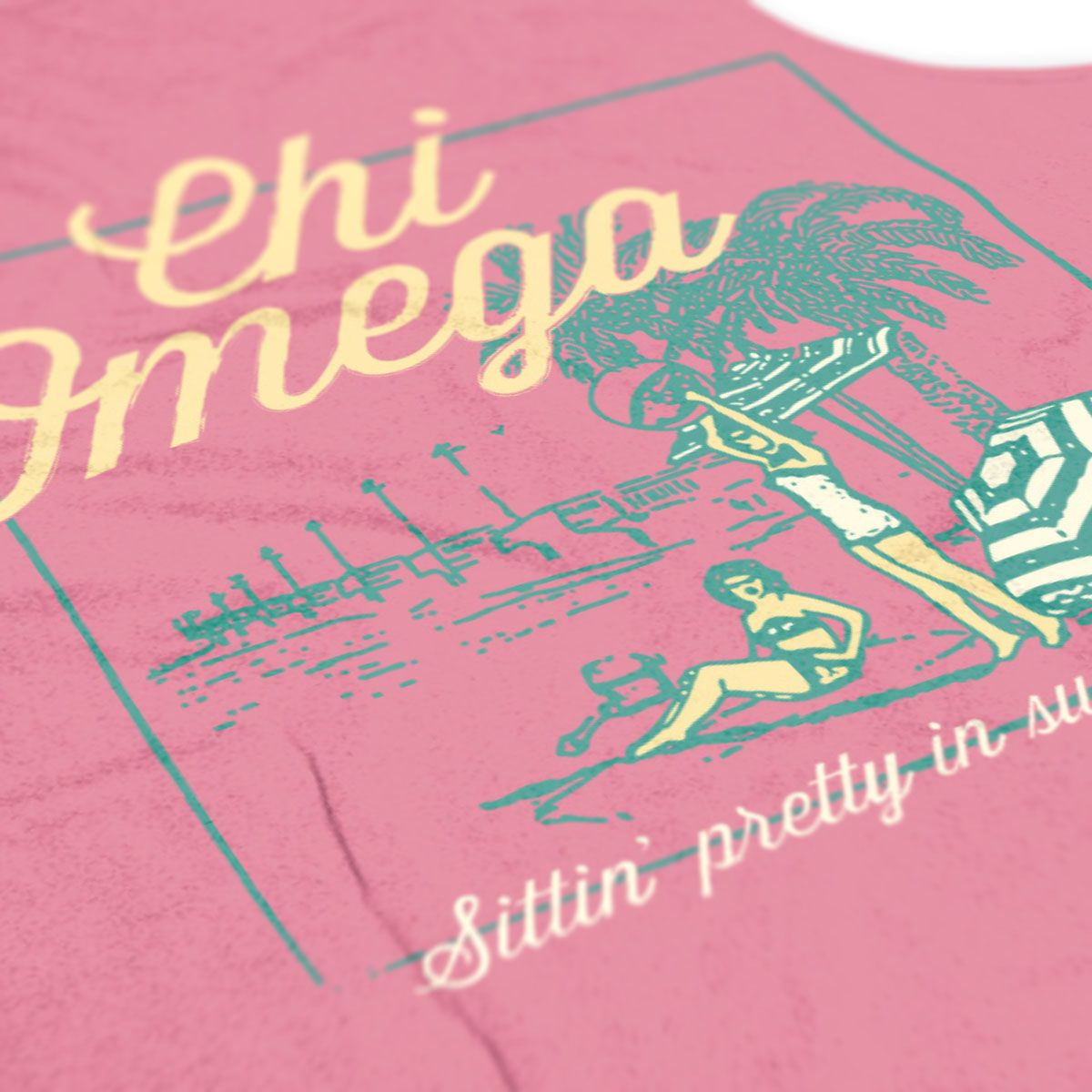 Chi Omega - ChiO - Chi O Tanks - Arkansas Chi O - Psi Chapter - Spring Break Tank - Sorority Tshirts - Check out b-unlimited.com!