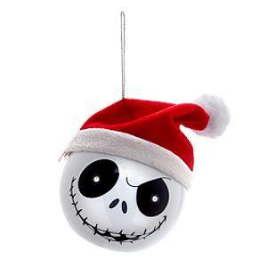 Nightmare Before Christmas Christbaumkugeln.Disney The Nightmare Before Christmas Light Up Bauble Disney