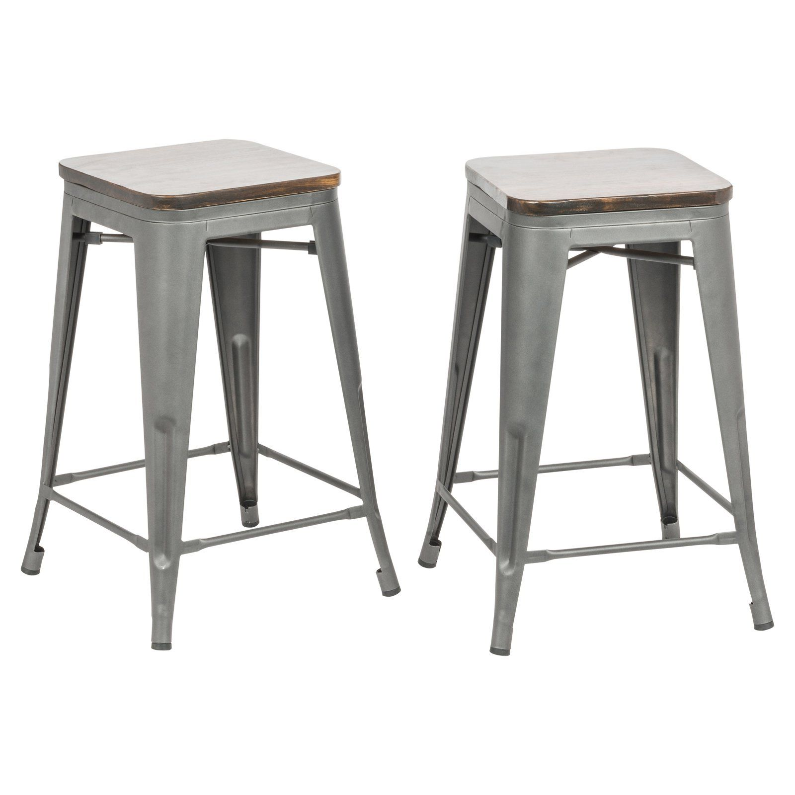 Carolina Chair Table Co Truett 24 In Square Backless Counter