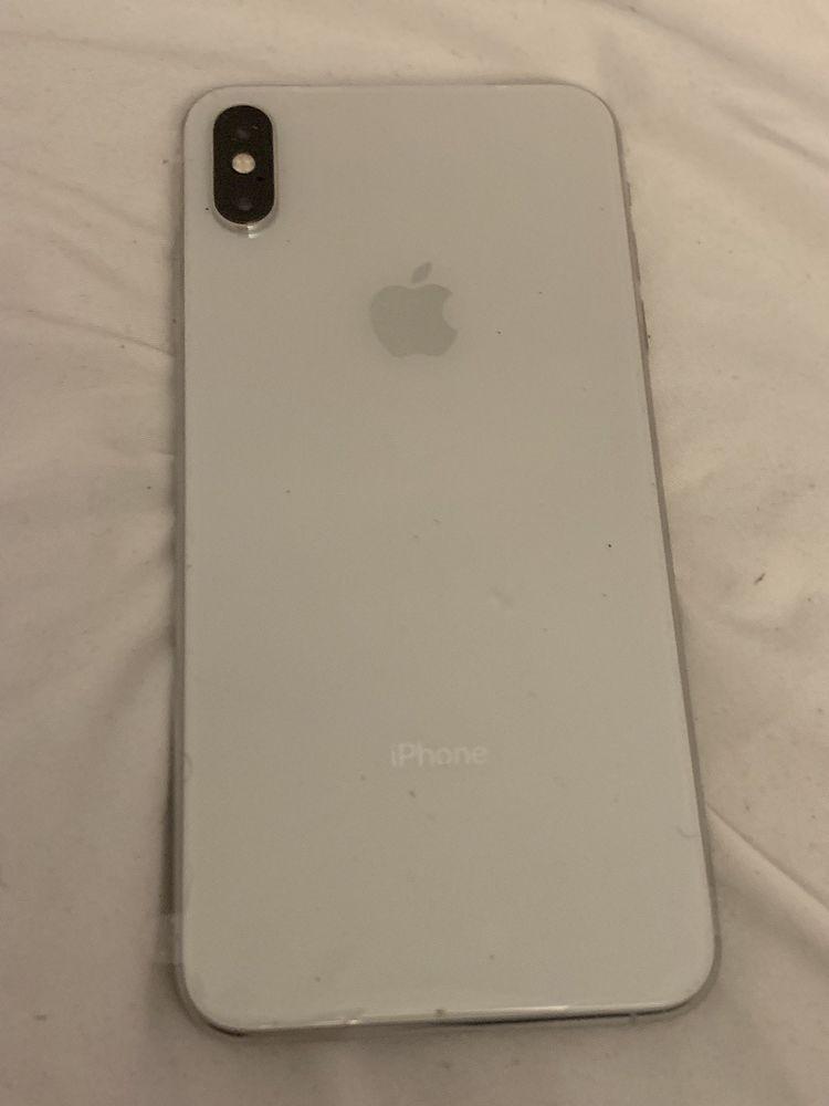 Apple Iphone Xs Max 256gb Silver Verizon A1921 Cdma Gsm