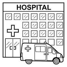 Resultado De Imagen De Hospital Para Colorear Cvc Word