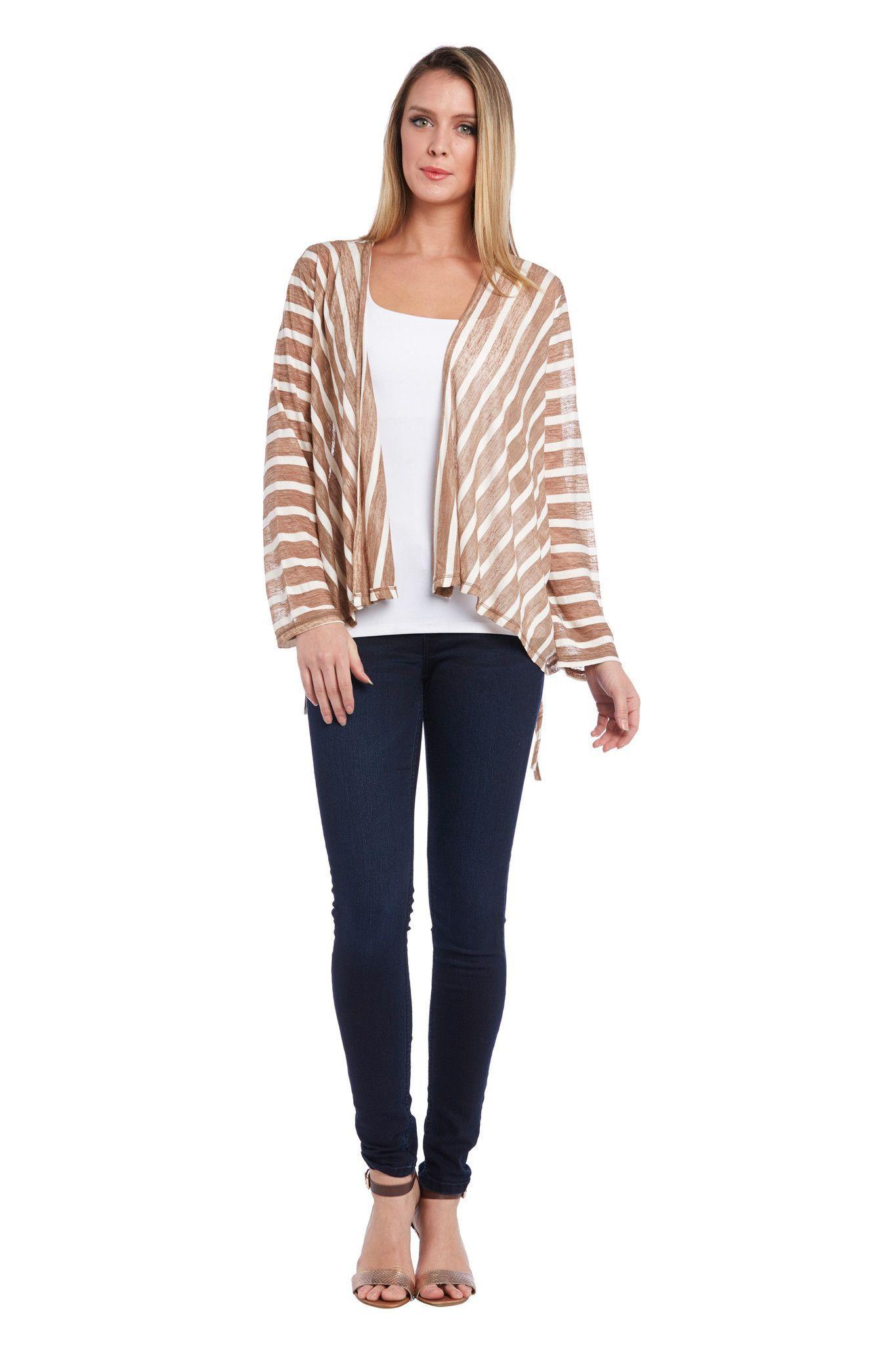 Knit Stripe Jacket