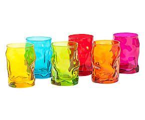 Set di 6 bicchieri da acqua in vetro Sorgente - 300 ml