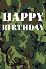 46 Camo Happy Birthday Camo Birthday Themes Happy Birthday