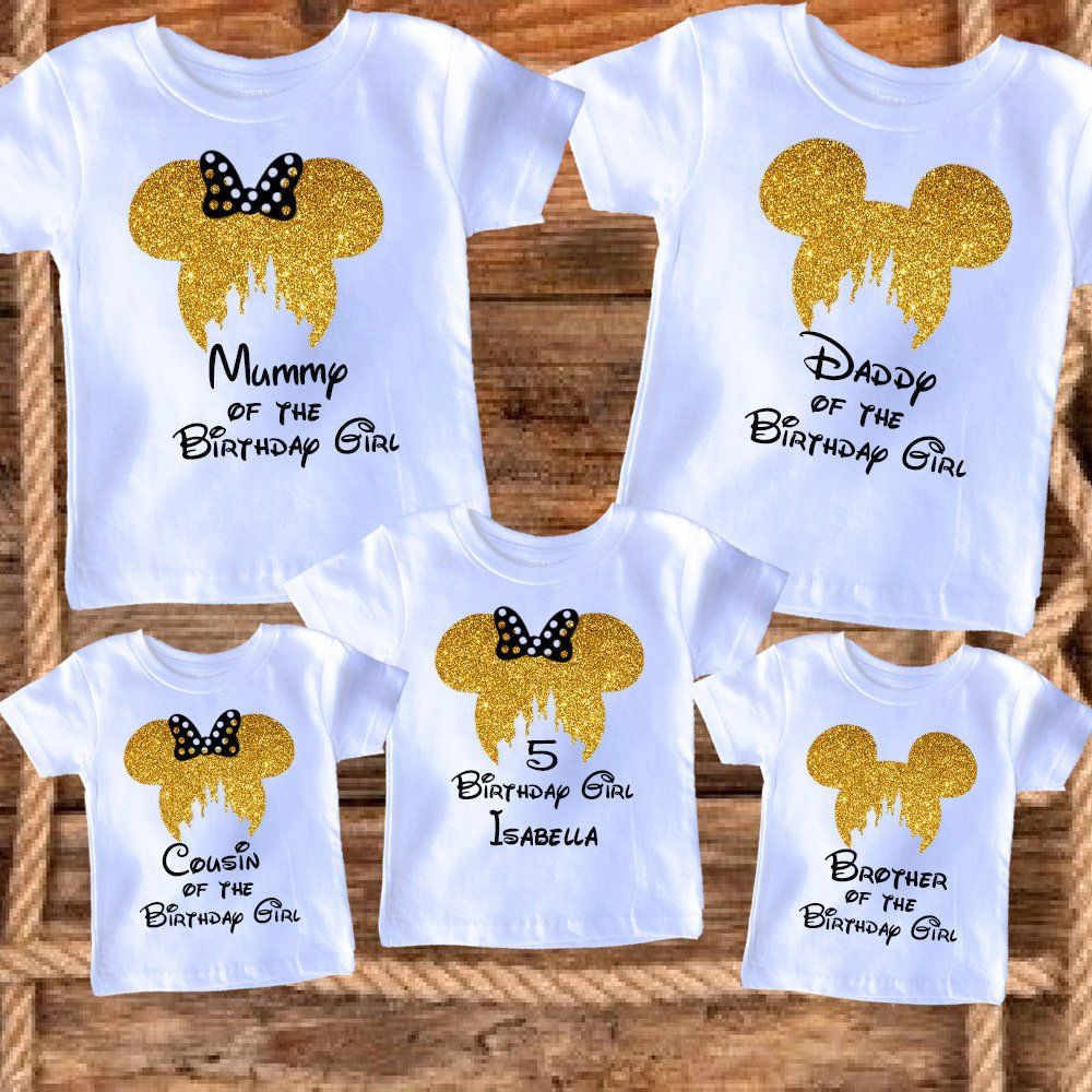 1ca2e6101 Mickey Mouse Disney family matching t-shirts, Family vacation Disney shirts,Mickey  Minnie mouse Personalized shirt, custom Birthday Shirts by ...