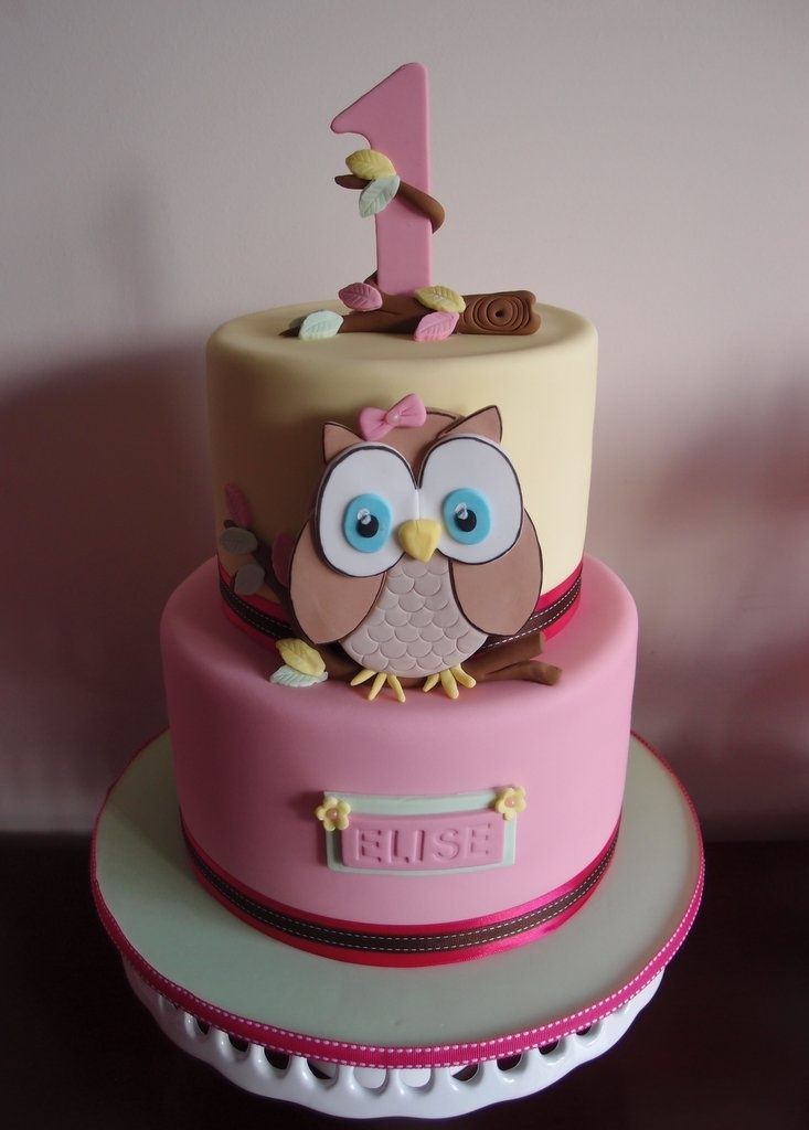 owl first birthday cake Google Search ANN REMEMBER THIS