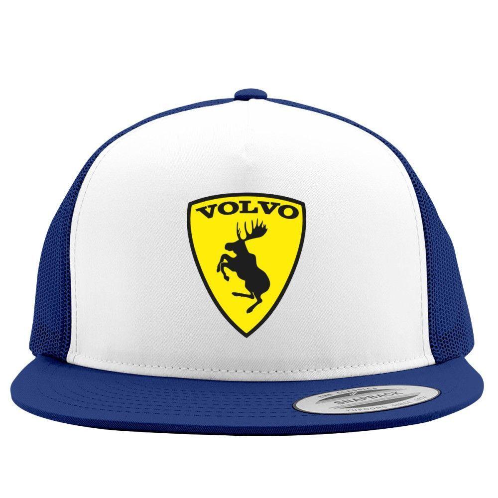 Volvo Embroidered Trucker Hat