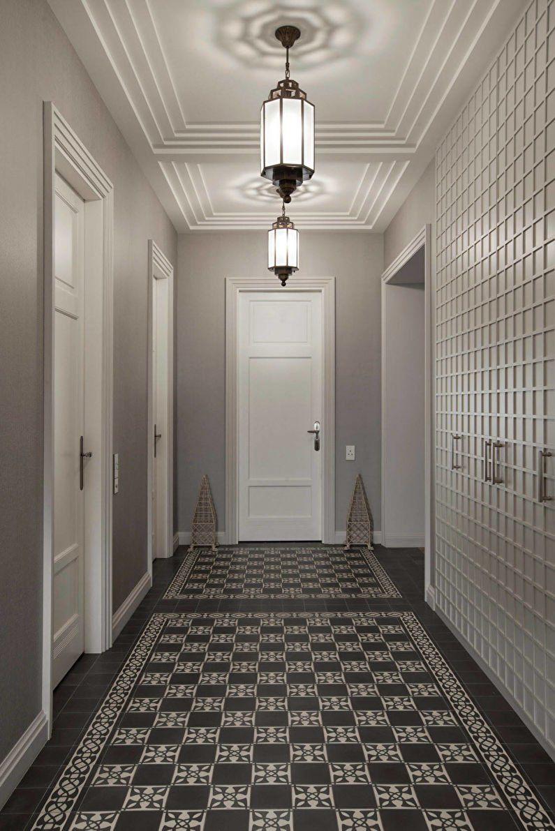Idee Couloir Gris Et Blanc Couloir Gris Gris Blanc Couleur Couloir
