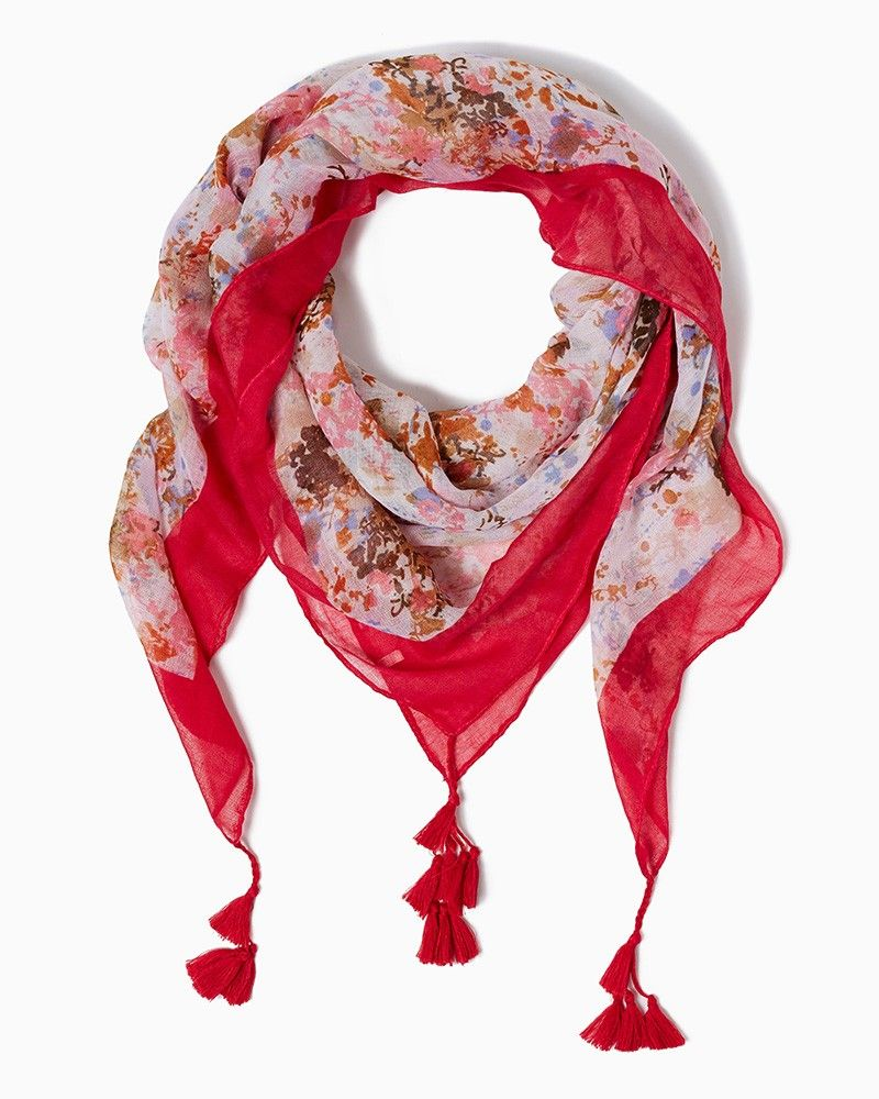 Aaaaand this!  charming charlie | Pretty Picasso Scarf | UPC: 450900498511 #charmingcharlie