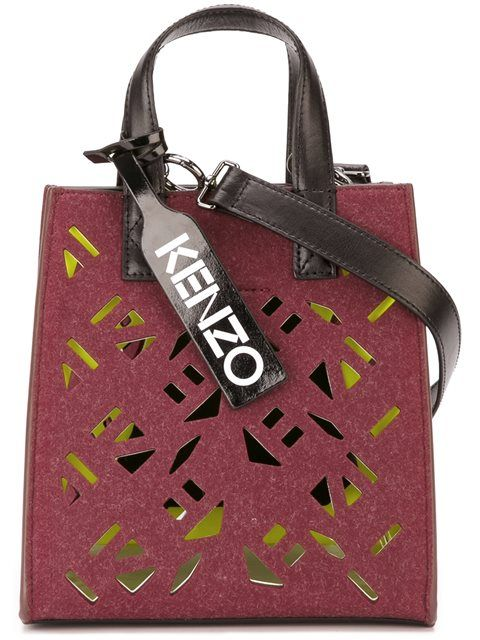6ea43df8c58 KENZO 'Flying Kenzo' Tote. #kenzo #bags #shoulder bags #hand bags  #polyester #leather #tote #согл-16162390-1