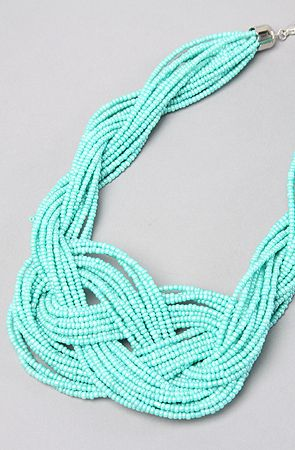 Turqoise Knot Necklace