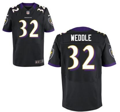 womens mens baltimore ravens 32 eric weddle black alternate nfl nike elite jersey mens nike baltimor