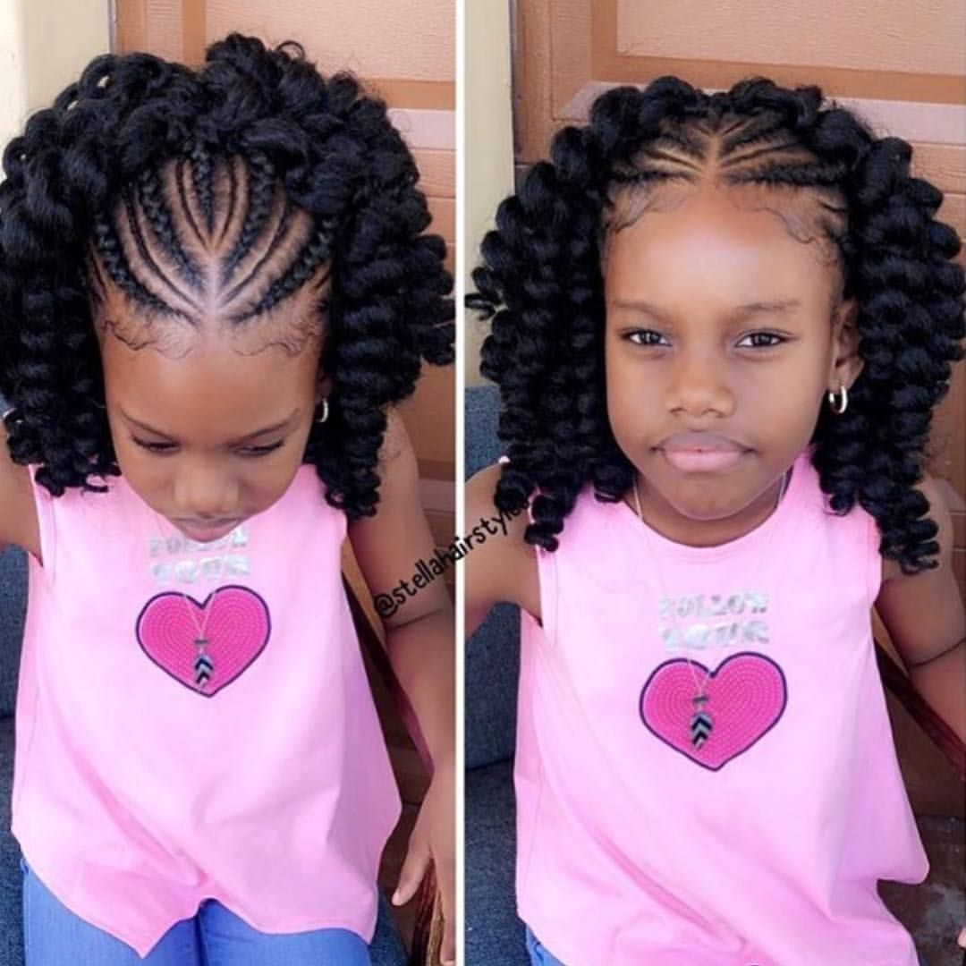 Pin On Kids Braided Hairstyles