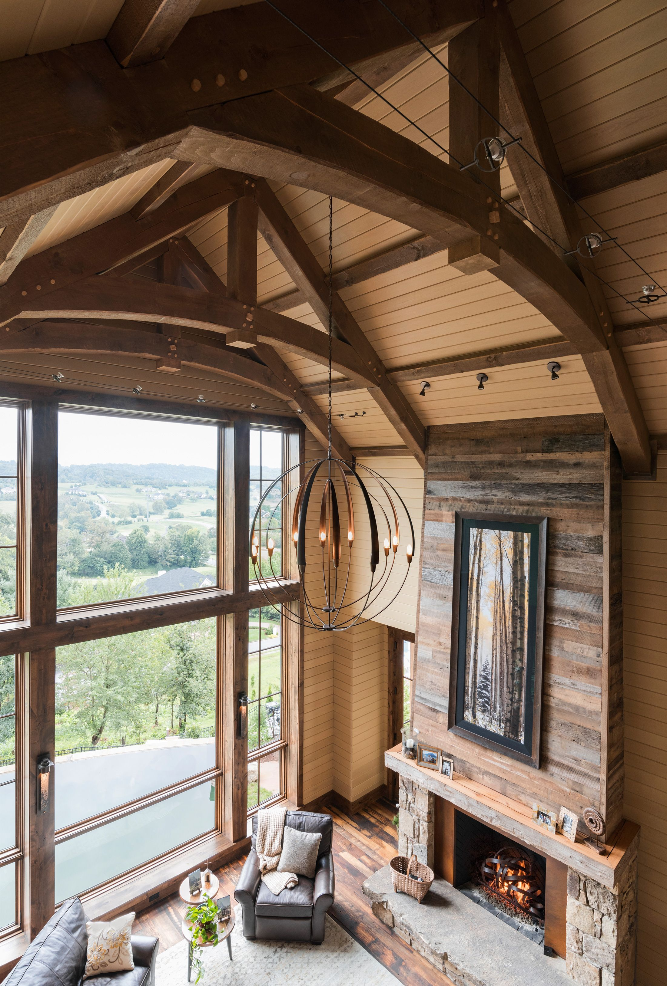 East Tennessee Residence | Rustic home design, Rustic ...